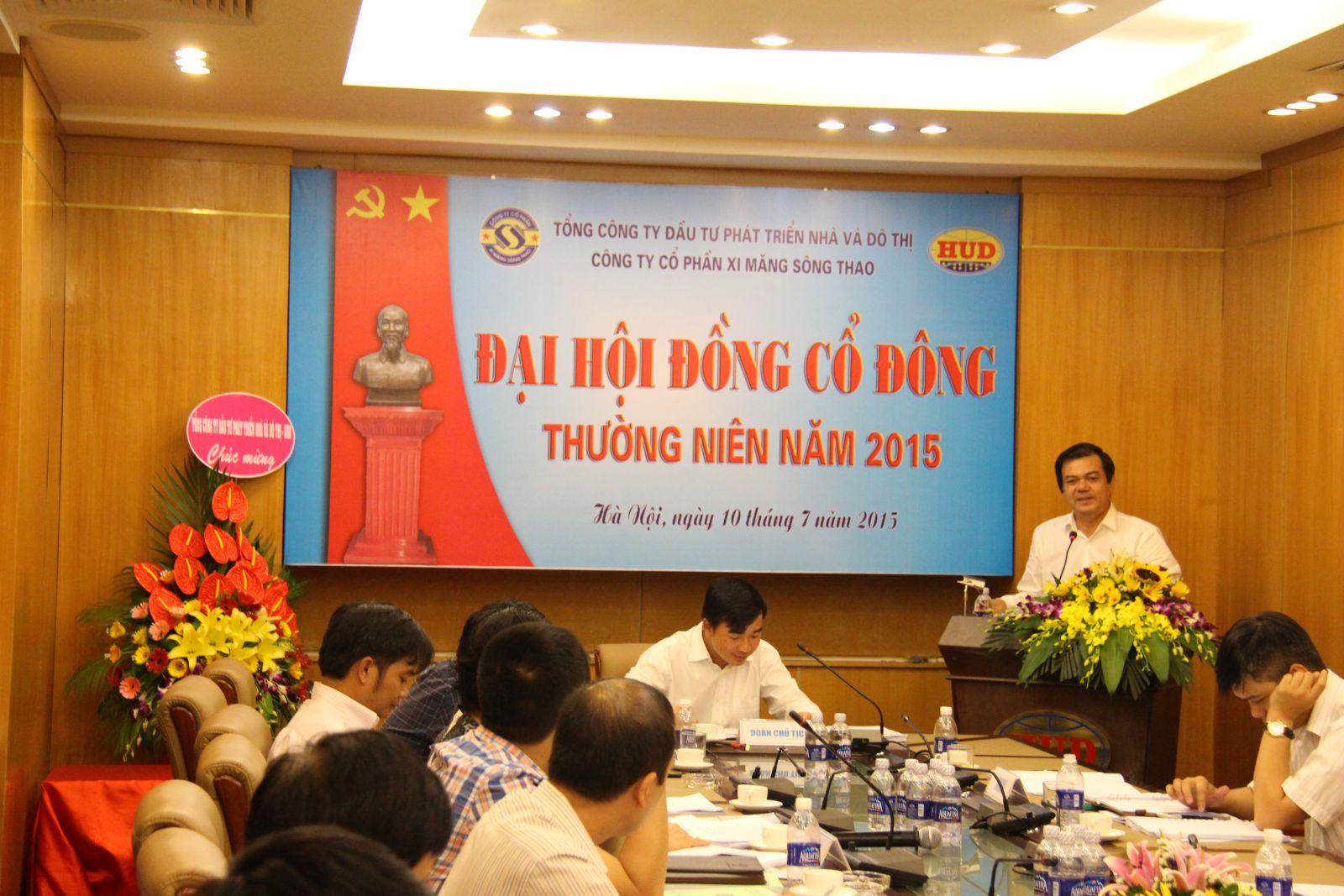Tổ chức thành công Đại hội đồng cổ đông thường niên năm 2015