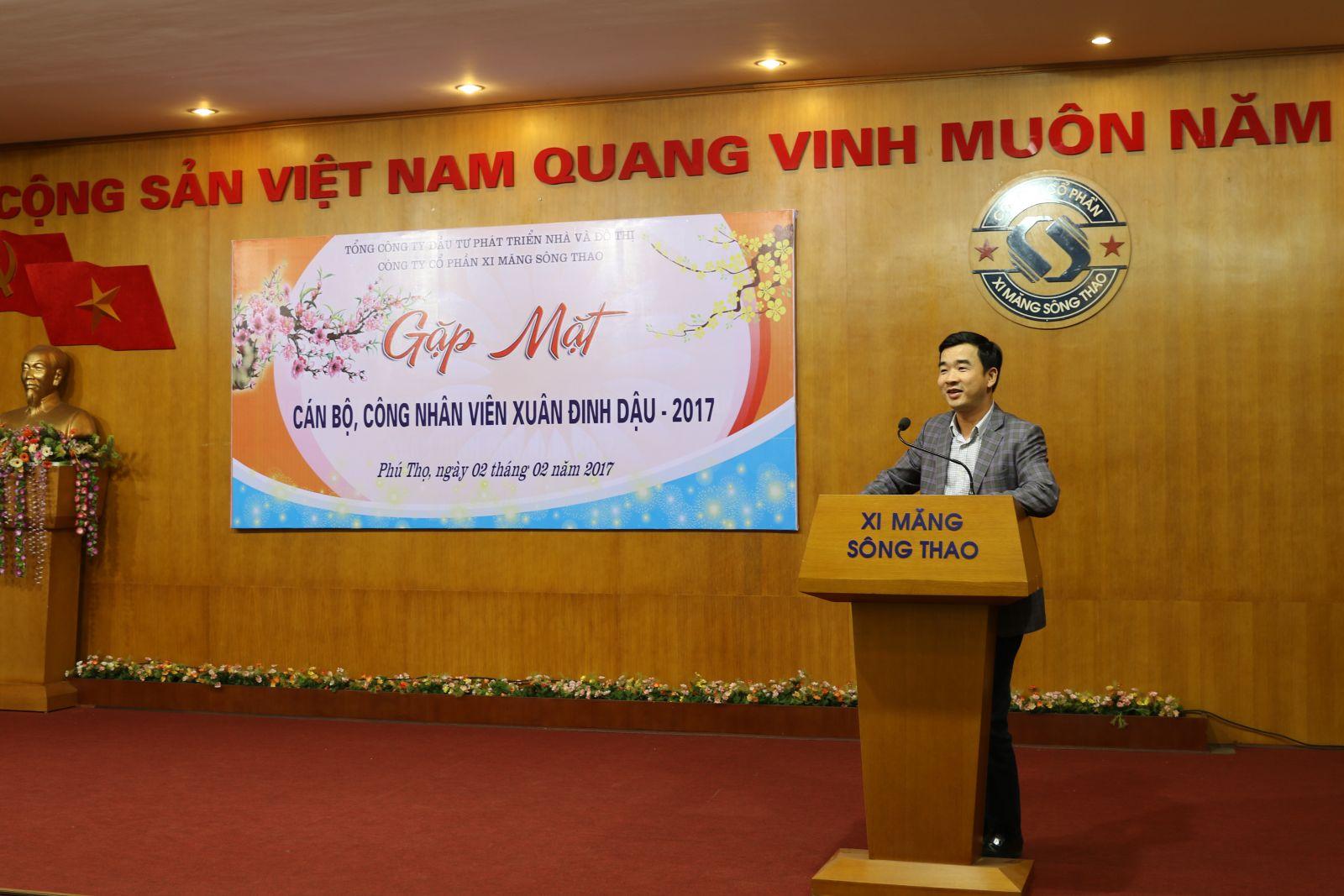 Gặp mặt CBCNV Công ty Đầu Xuân Đinh Dậu 2017